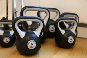 Kettlebells for active physical therapy