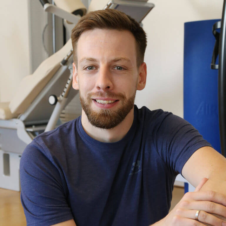 Physiotherapist Matthias Hähnel