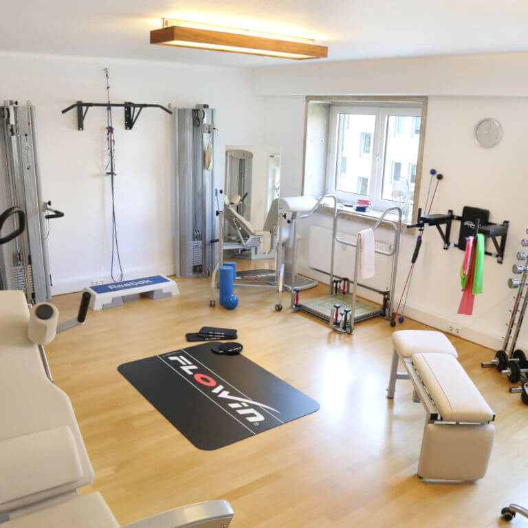 Training room with equipment at HNL Physiotherapy